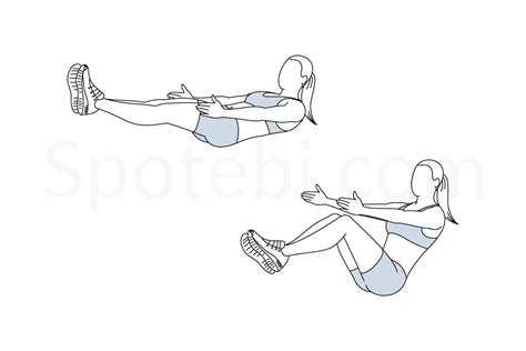 sit illustrated exercise guide