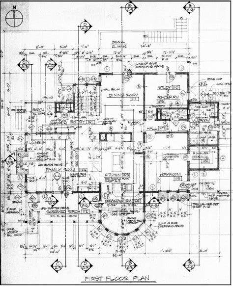 working drawing floor plan detailed architectural drawings architecture ideas