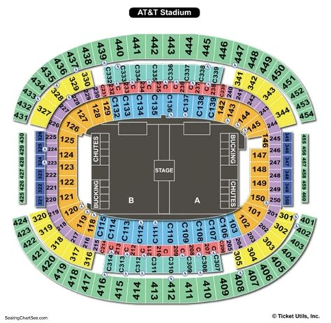at t stadium map att stadium seating chart brokeasshome