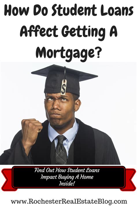 buying a house with student loan debt how student loans affect getting a mortgage when buying a home