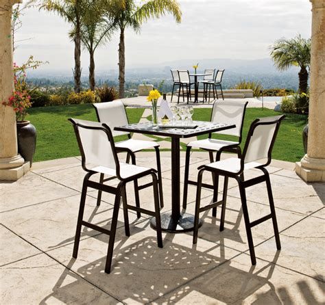 high top outdoor patio furniture high top patio table set home styles 3pc high top bistro set marble high top bistro table and