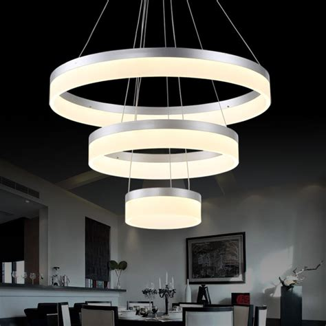 Modern Hanging Lights by Aliexpress Buy Sale Led Pendant L Ring Light