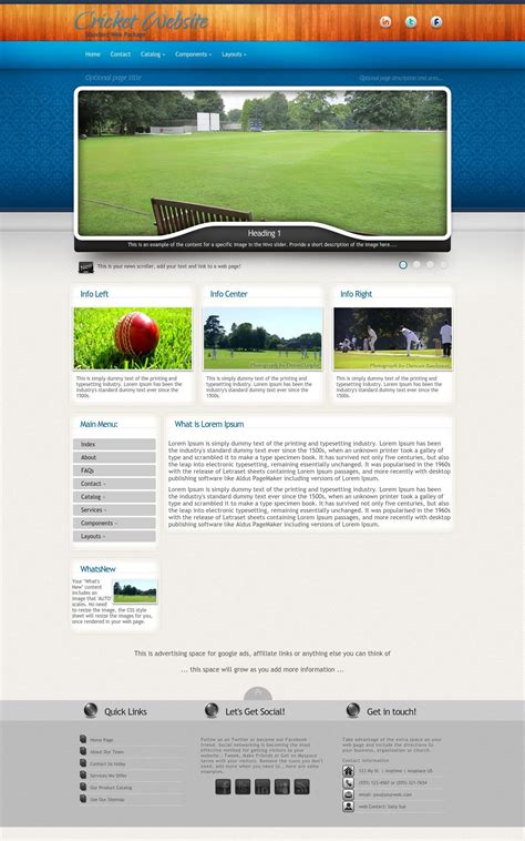 cricket templates for blogger uptown cricket blue grey cricket expression template