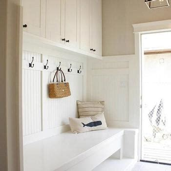 beadboard bench mudroom bathroom cottage laundry room design new england