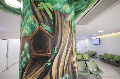 monash radiology mural set   graffiti artist  hire