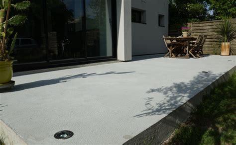 terrasse renovieren beton terrasse en beton ma terrasse
