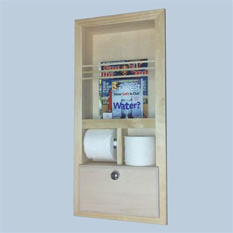 bathroom wall magazine holder recessed in the wall bathroom magazine rack mr10