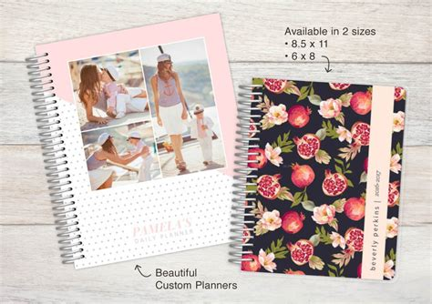 design your own hardcover journal upload your own design 8 5x11 hard cover planner upload