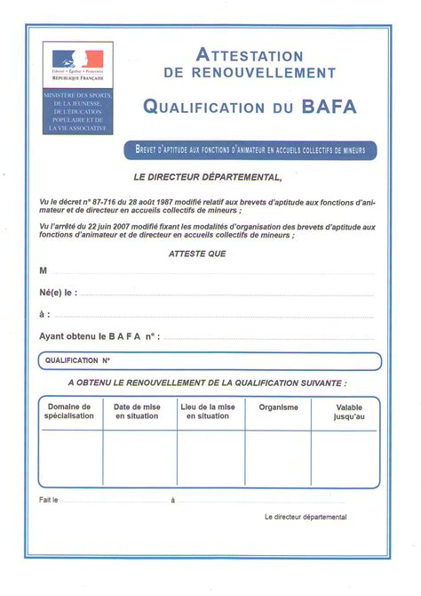 Lettre Engagement De Retour Visa Modele Attestation Qualification Document