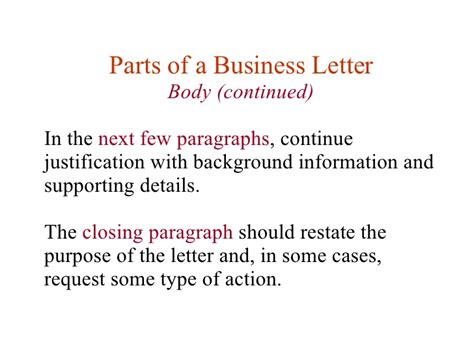 Different Parts Of Business Letter And Definition business letters purpose 28 images purpose of business
