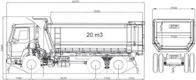 10 Wheels Truck Dimensions Stp Dump Truck