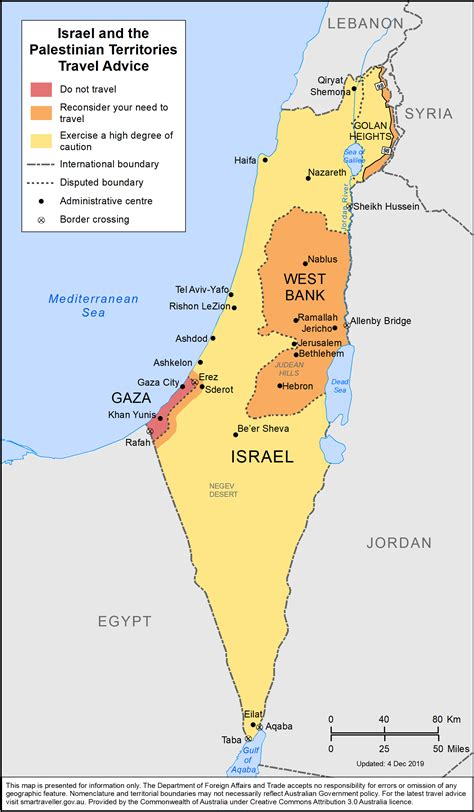 israel   palestinian territories travel advice
