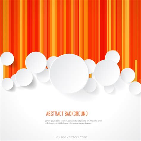 background templates white paper circles on geometric lines background template