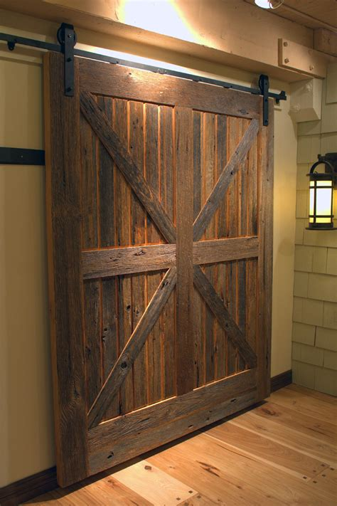 Sliding Barn Doors Don T Have To Be Rustic Sun Mountain Barn Door Design