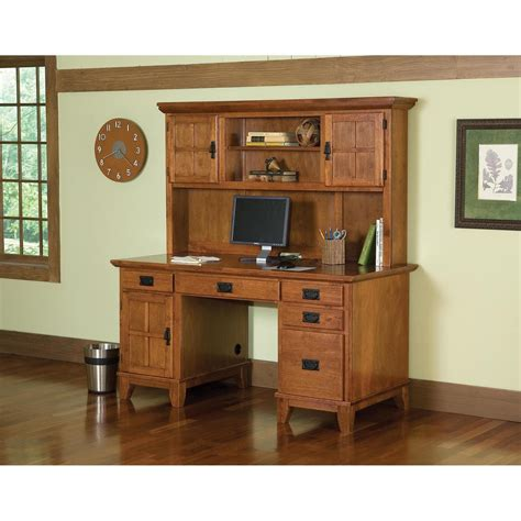 computer desk and hutch combinations update your home office with this oak desk and hutch