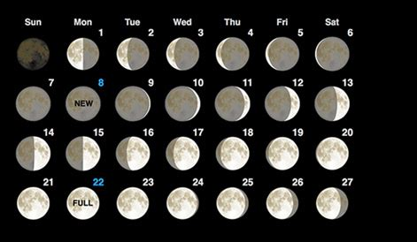printable calendar 2016 with moon phases moon phases may 2016 calendar moon schedule printable