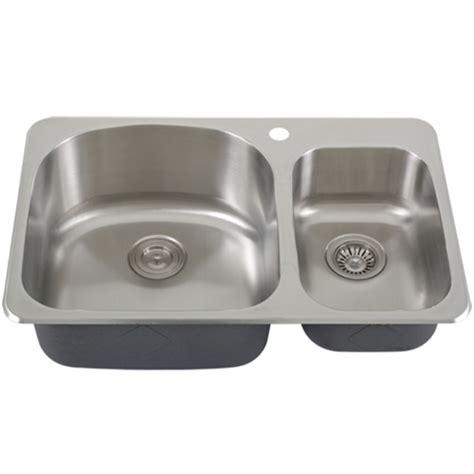 ticor s997 overmount 18 stainless steel bowl