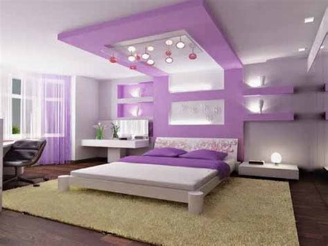 Bedroom Modern Cool Girls Bedrooms With Furnitures Purple Design Bedroom
