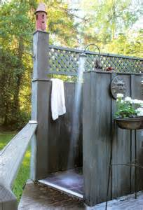 Pottery Barn Cushions Outdoor Spectacular Outdoor Shower Ideas Photos Decorating Ideas