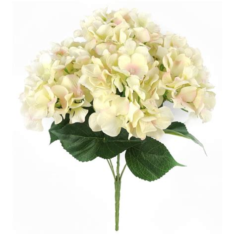 S Garden Wedding Silk Flowers Artificial Flowers Bouquet Silk Hydrangea Bush