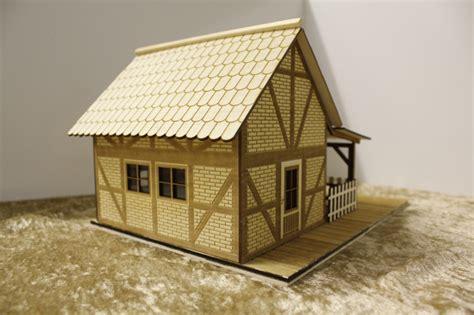 veranda fachwerkhaus modellbau veranda
