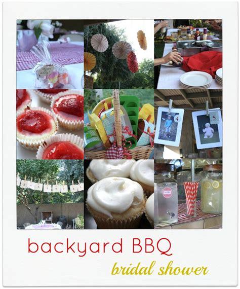 bbq themed bridal shower ideas joanna s backyard bridal shower
