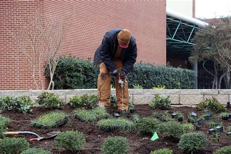 local landscaping companies give back with new school