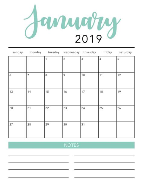 printable calendar template  colors  heart naptime  printable calendar