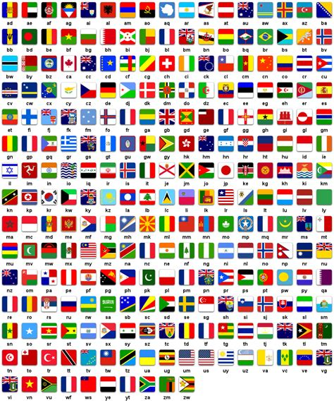 flags of the world languages learn quot red quot in different languages http www howtosayin