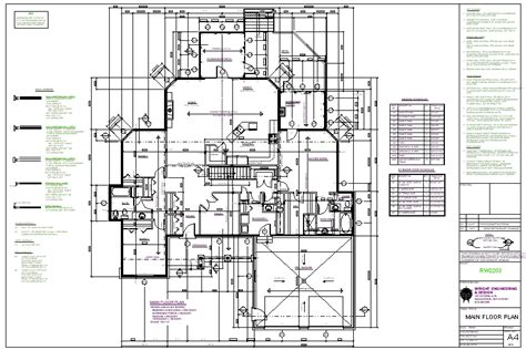 construction floor plans plan packages