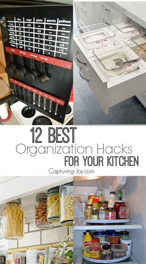 organizatoin hacks 12 best organization hacks for your kitchen capturing