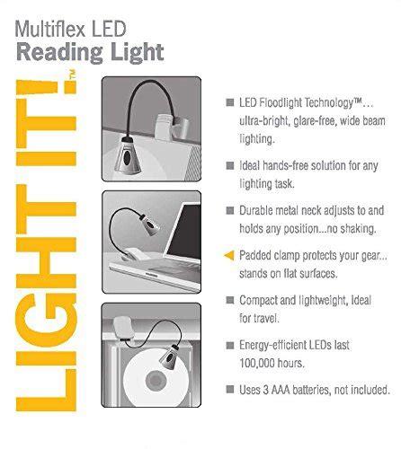 multiflex gooseneck book light light it by fulcrum 20010 301 sale r50 your
