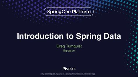 introduction to spring data ppt download introduction to spring data
