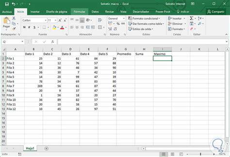 tutorial para usar vegas pro 11 0 c 243 mo usar macros en excel 2016 para automatizar tareas