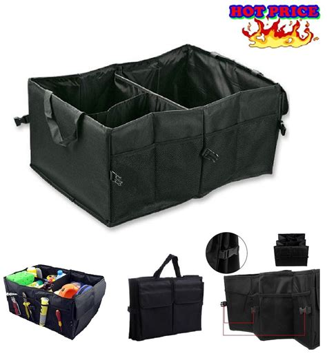 car trunk storage containers storage containers car organizer vehicle grocery carrier