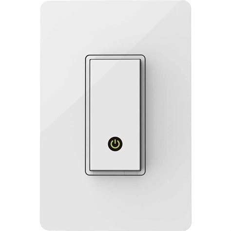 wemo light switch wi fi enabled works with amazon alexa belkin wemo light switch wi fi enabled