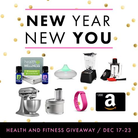 Party Giveaway Ideas - kara s party ideas new year new you giveaway healthy fitness goals giveaway
