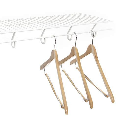 12 inch open slide closet shelving white in wire closet
