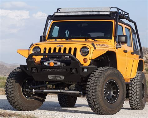 jeep armor bumper pin armor jeep front tubular bumper grille guard on