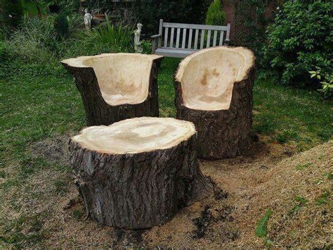 upcycled tree stump and log ideas the owner builder network
