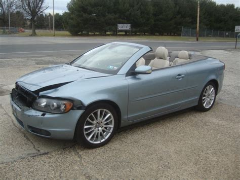 volvo c70 convertable lightly damaged 2007 volvo c70 convertible rebuildable
