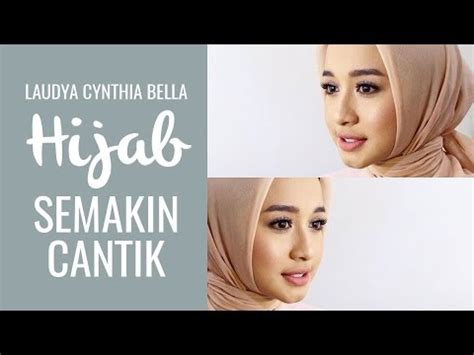 tutorial hijab pashmina simple ala laudya chintya bella tutorial hijab laudya chintya bella doovi