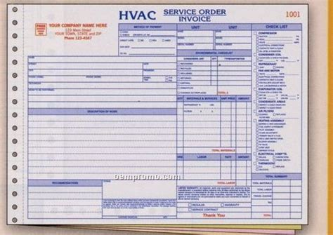 Forms China Wholesale Forms Page 48 Hvac Price Book Template