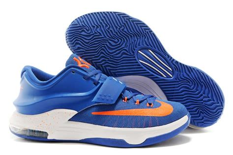 royal blue nike basketball shoes nike kd 7 basketball shoes royal blue white orange