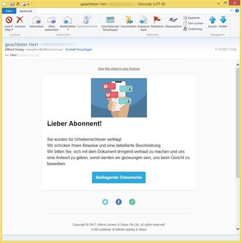hi herr vorname nachname hinweis im oktober oder - Allkind Joinery Email