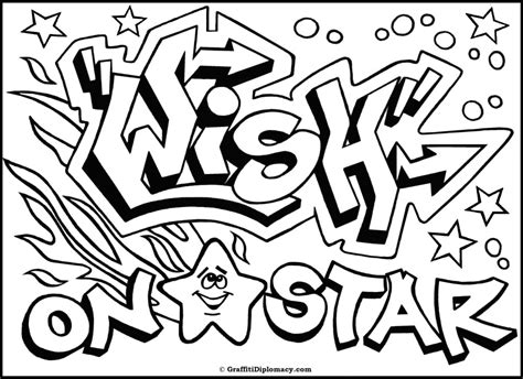 pin graffiti coloring pages names pelautscom on pinterest