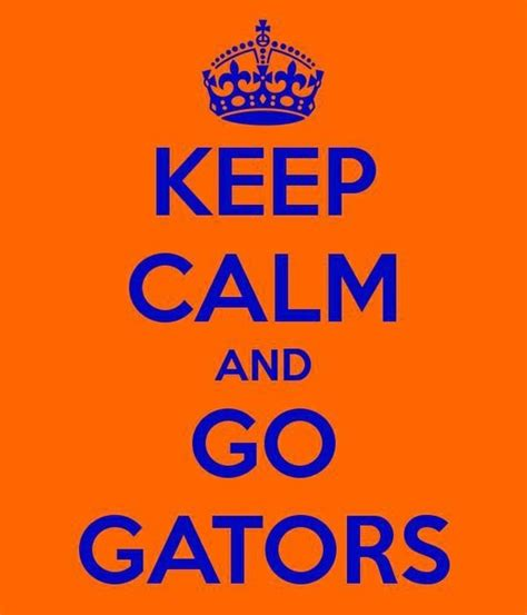 Welcome to gainesvegas keep calm and gator on