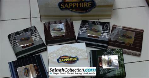 Sarung Cendana Absolute sarung sapphire timbul kembang dua warna stk