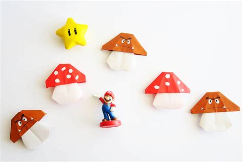 Origami Mario - easy mario origami all for the boys