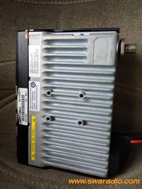 Mororola Gm 3688 Vhf dijual motorola gm 3688 vhf yang 25 watt masih bening kondisi rx normal swaradio